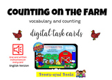 Counting on the Farm: Vocabulary and Counting Activities