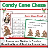 Counting on the Hundred Chart Candy Cane Chase