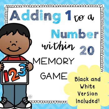 Counting on to Add 1 More Than a Number Memory Game