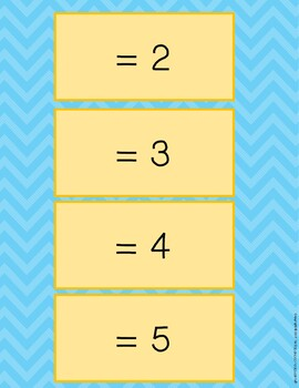 Counting on to Add 2 More Than a Number within 20 Memory Game