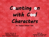 Counting on with Cool Characters