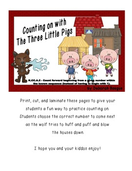 Counting on with The Three Little Pigs