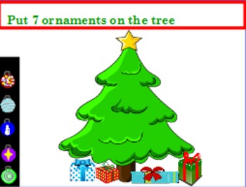 Counting ornaments on a tree