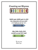 Counting out Rhymes
