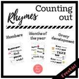 Counting out rhymes for EFL / ESL - FREEBIE