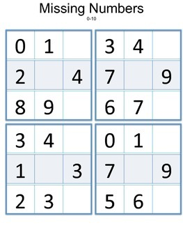 Counting patterns - What's the missing number?