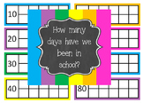 Counting the Days of School Ten Frames
