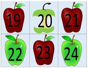 Counting the Days of School (apples)