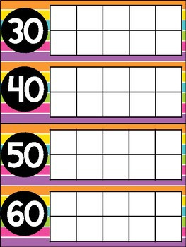 Counting the Days of School with Ten Frames