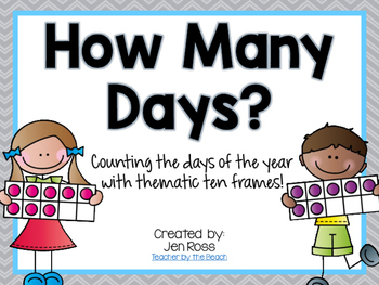 Counting the Days with Ten Frames