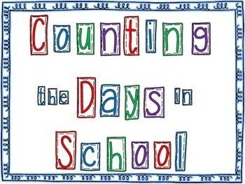 Counting the Days with Ten-Frames for Calendar Time or Math Focus Wall