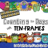 Counting the Days with Ten-Frames Calendar Time or Math Focus Wall