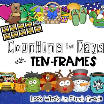 Counting the Days with Ten-Frames for Calendar Time or Mat