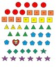 Counting the Omer Poster, 16x20 learn shapes, colors, numbers