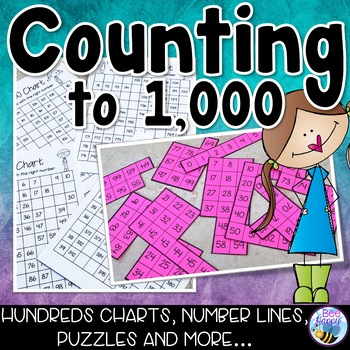 Counting to 1,000 with Hundreds Charts and Number Lines