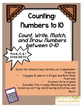 Numbers to 10 - Counting to 10