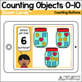 Counting to 10 BOOM CARDS™ | Counting Buttons