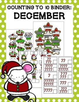 Counting to 10 Binder: December
