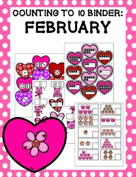 Counting to 10 Binder: February
