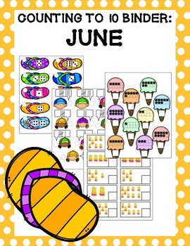 Counting to 10 Binder: June