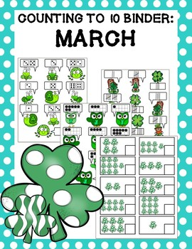 Counting to 10 Binder: March
