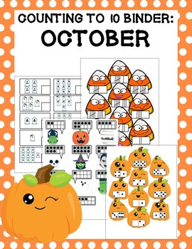 Counting to 10 Binder: October