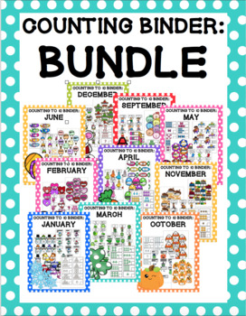 Counting to 10 Year Long Bundle Bundle