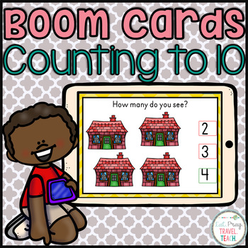 Counting to 10 Boom Cards