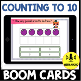 Counting to 10 BOOM CARDS - Gumball Theme