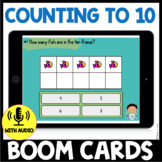Counting to 10 BOOM CARDS - Fish Theme