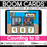 Counting to 10 Boom Cards for Distance Learning