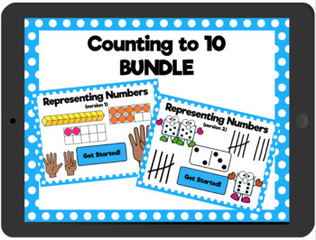 Counting to 10 Bundle: Interactive PDFs