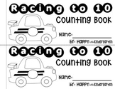 Counting to 10: Car Counting & Tracing Book FREEBIE