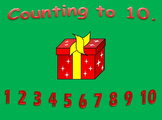 Counting to 10 Christmas Math Activitiy.