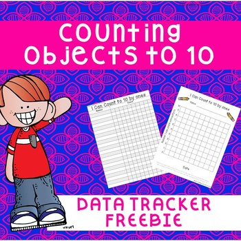 Counting to 10 Data Tracker Freebie