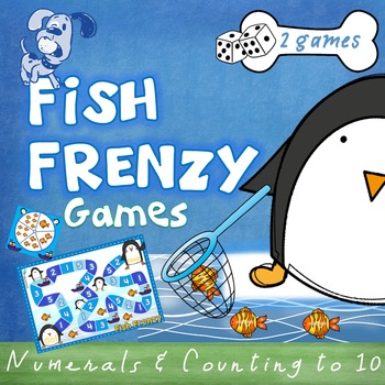Counting to 10 - Game - Fish Frenzy