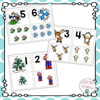 Counting to 10 Game- Winter Theme