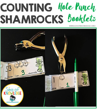 Counting to 10 Hole Punch Booklets