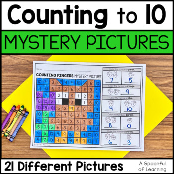 Counting to 10 Mystery Pictures