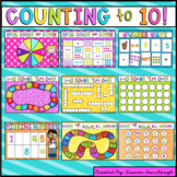 Counting to 10 Number Games
