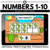 Counting to 10 Number Sense  Distance Learning Math Task Cards