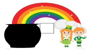 Counting to 10 Pot of Gold Activity Mats