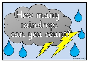 Counting to 10 - Raindrops