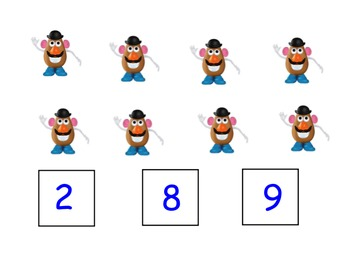 Counting to 10 SmartBoard Interactive