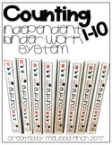 Counting to 10- T.E.A.C.C.H. Independent Binder Work System