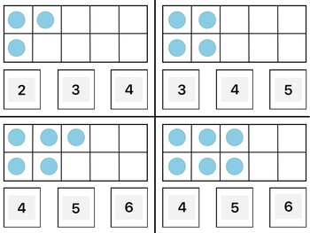 Counting to 10 Visual Task Cards (Autism and Special Education)