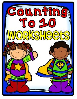 Counting to 10 Worksheets