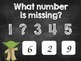 Counting to 10 and Find the Missing Number Games for Kindergarten!