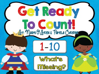 Counting to 10 and Find the Missing Number Games for Kinde