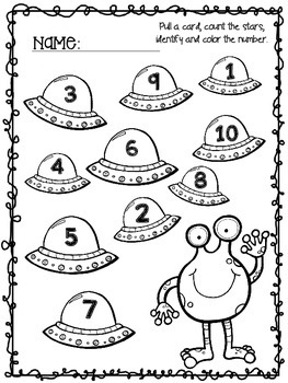 Counting to 10 centers and games